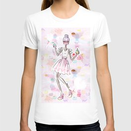 Cupcake Party Girl T-shirt