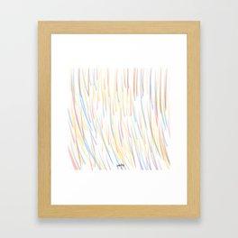Refraction in Action Framed Art Print