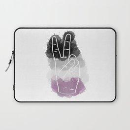 Asexual Pride Laptop Sleeve