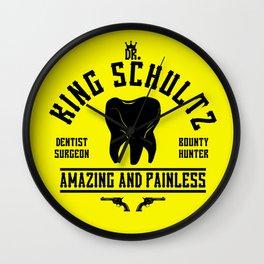 dr King Schultz Wall Clock