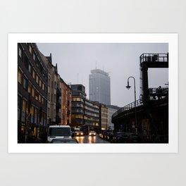 Hackescher Markt, Berlin Art Print