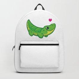 Cartoon Baby Crocodile Backpack