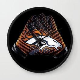 Denver Gloves Wall Clock