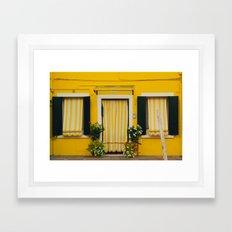 Burano Island IV Framed Art Print
