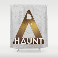 bastille Shower Curtains featuring Bastille #1 Haunt by Thafrayer