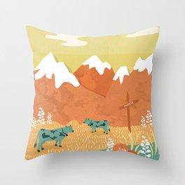 Alpine Throw Pillow
