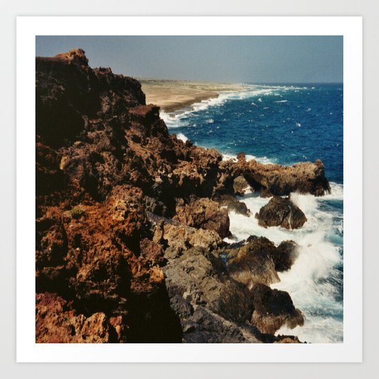 Aruba dream beach Art Print