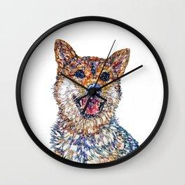 Shiba Inu - Mila Wall Clock