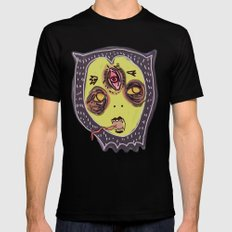 Gastric bypass DEMON face Mens Fitted Tee Black SMALL