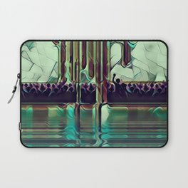 Escape into the Music. Laptop Sleeve