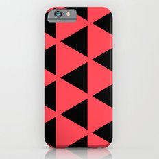 Sleyer Black on Pink Pattern iPhone 6s Slim Case