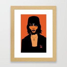 Haylee in minimum Framed Art Print