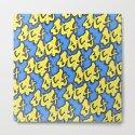 Stay Graffiti Pattern - Blue Honey by chaparralia
