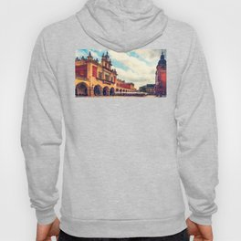 Cracow Main Square Old Town Hoody