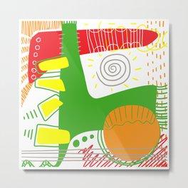 Happy color 1 Metal Print
