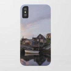 Peggy's Cove Nova Scotia iPhone X Slim Case