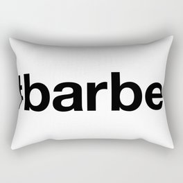 BARBER Rectangular Pillow