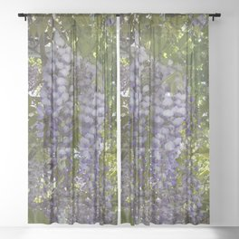 Wisteria Trellis Sheer Curtain