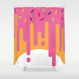 DonutWorry Shower Curtain