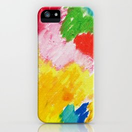 Sunny Abstract 1 iPhone Case