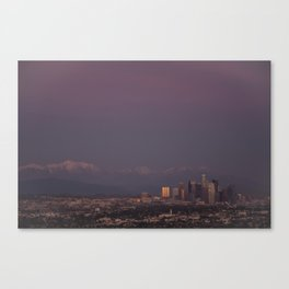 Dusk of LA Canvas Print