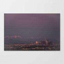 Dusk of LA Canvas Print