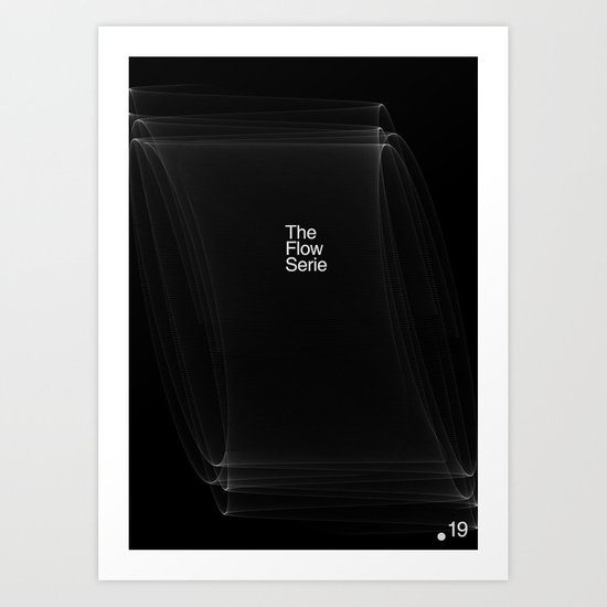 The Flow Series #19 Art Print