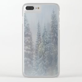 Magic Forest Clear iPhone Case
