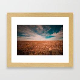 Nowhere Framed Art Print