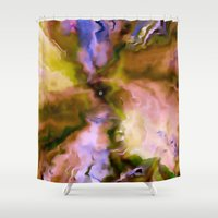 big bang Shower Curtains featuring The Big Bang by Ray Cowie
