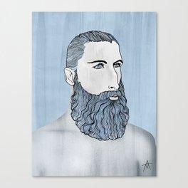 BEARD OMAR Canvas Print