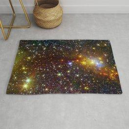 Constellation Serpens Cloud Spawns Stars Rug