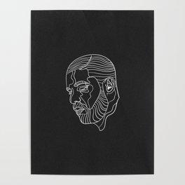 Drake (black) Poster