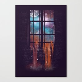 Let the Stars Flow Into You V.2 Canvas Print