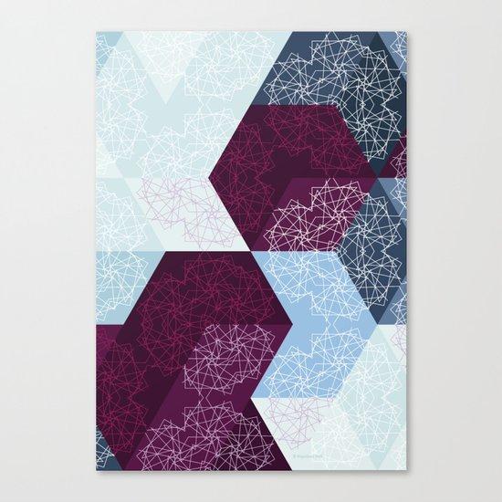 Caleidoscube Canvas Print