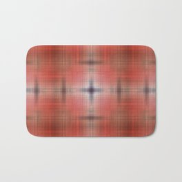 Tie-dye pattern red Bath Mat