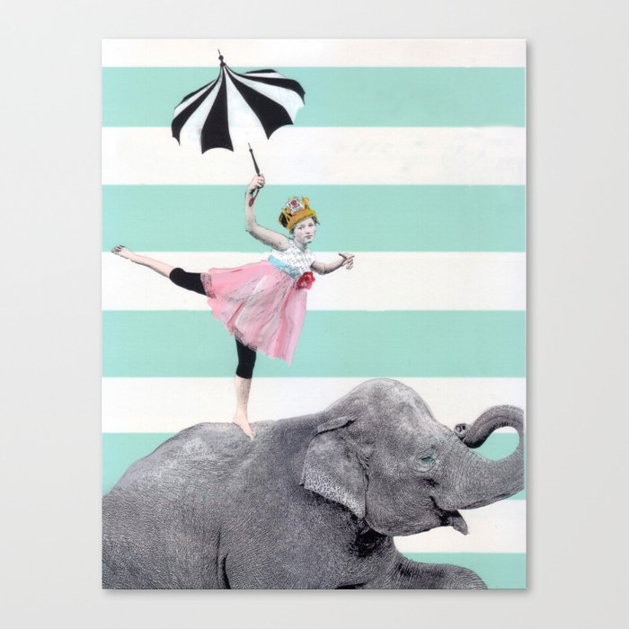 """""""A"""" for effort. Canvas Print"""