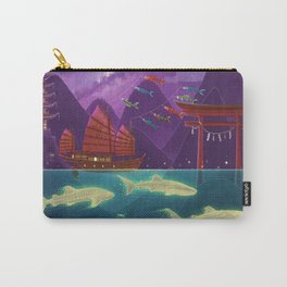 Junk Ship and Glow Sharks Carry-All Pouch