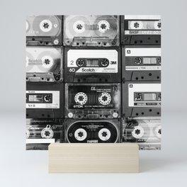 Something Nostalgic - black and white #decor #buyart #society6 Mini Art Print