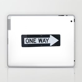 One way Laptop & iPad Skin