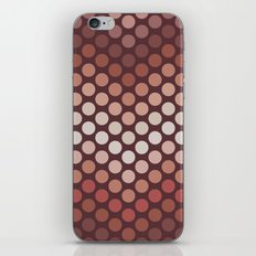 Dot Chevron: Earth tones  iPhone & iPod Skin