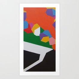 Cameleon Art Print