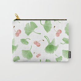 Gingkos Pattern Carry-All Pouch