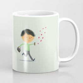 Boy in Love #3 Coffee Mug