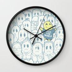 Shining In Shadows Wall Clock