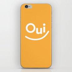 Oui iPhone & iPod Skin