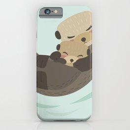 Otter Mama iPhone Case