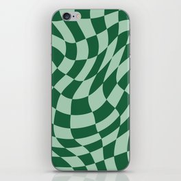 Play Checkers Sage iPhone Skin