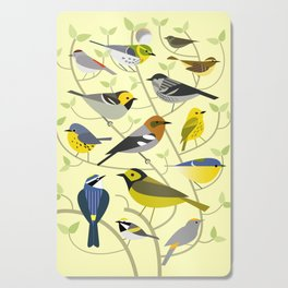 New World Warblers 2 Cutting Board