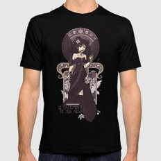 The Sound of Her Wings Mens Fitted Tee MEDIUM Black